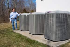 High-efficiency air conditioning in Silver Spring
