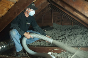 Cellulose Insulation Installation In D.C. & MD