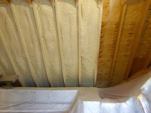 Spray Foam Insulation Installed In Rockville