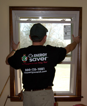 Low-e energy efficient window installation in MD