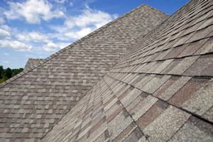 Homes roofed with asphalt shingles in Rockville